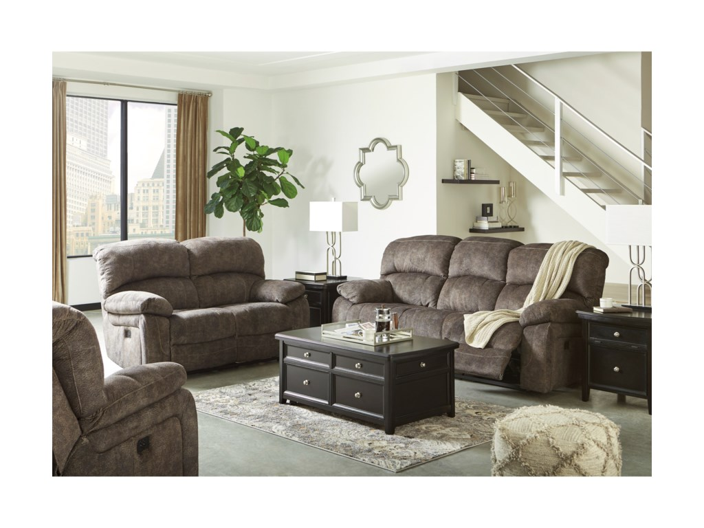 Signature Design by Ashley CanneltonReclining Living Room Group