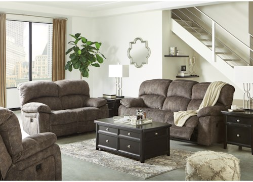 living room appliances. Signature Design by Ashley Cannelton Reclining Living Room Group