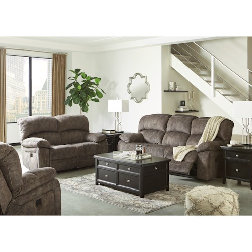 Signature Design by Ashley Cannelton Reclining Living Room Group