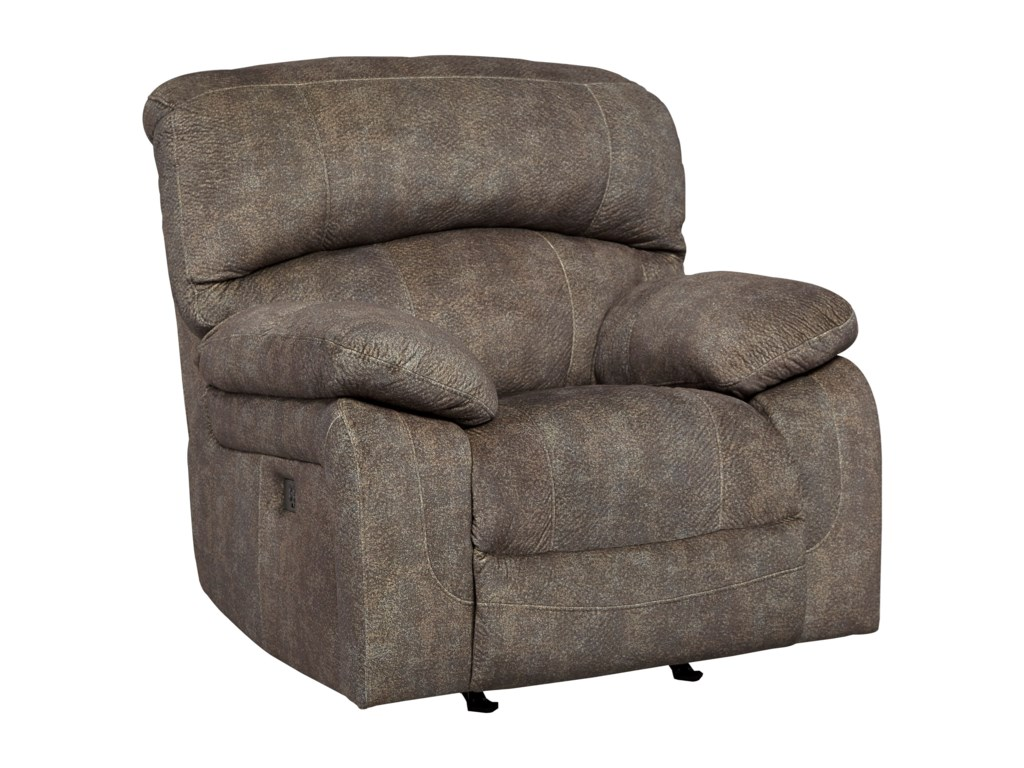 Signature Design by Ashley CanneltonPower Recliner with Adjustable Headrest