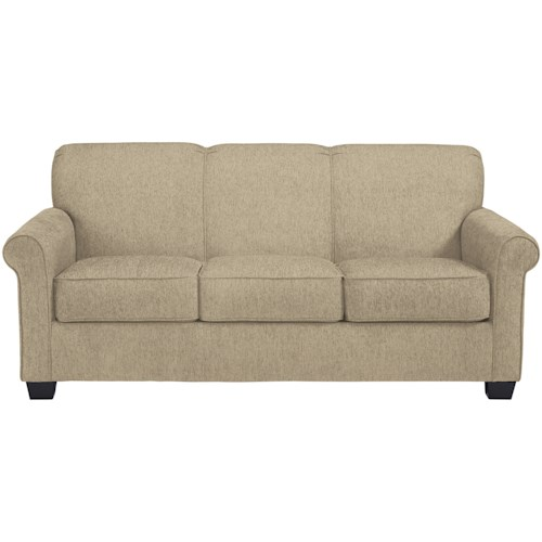 Signature Design by Ashley Cansler  Full Sofa Sleeper with Casual Style