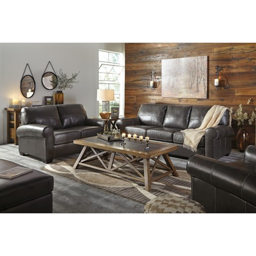 Signature Design by Ashley Canterelli Stationary Living Room Group