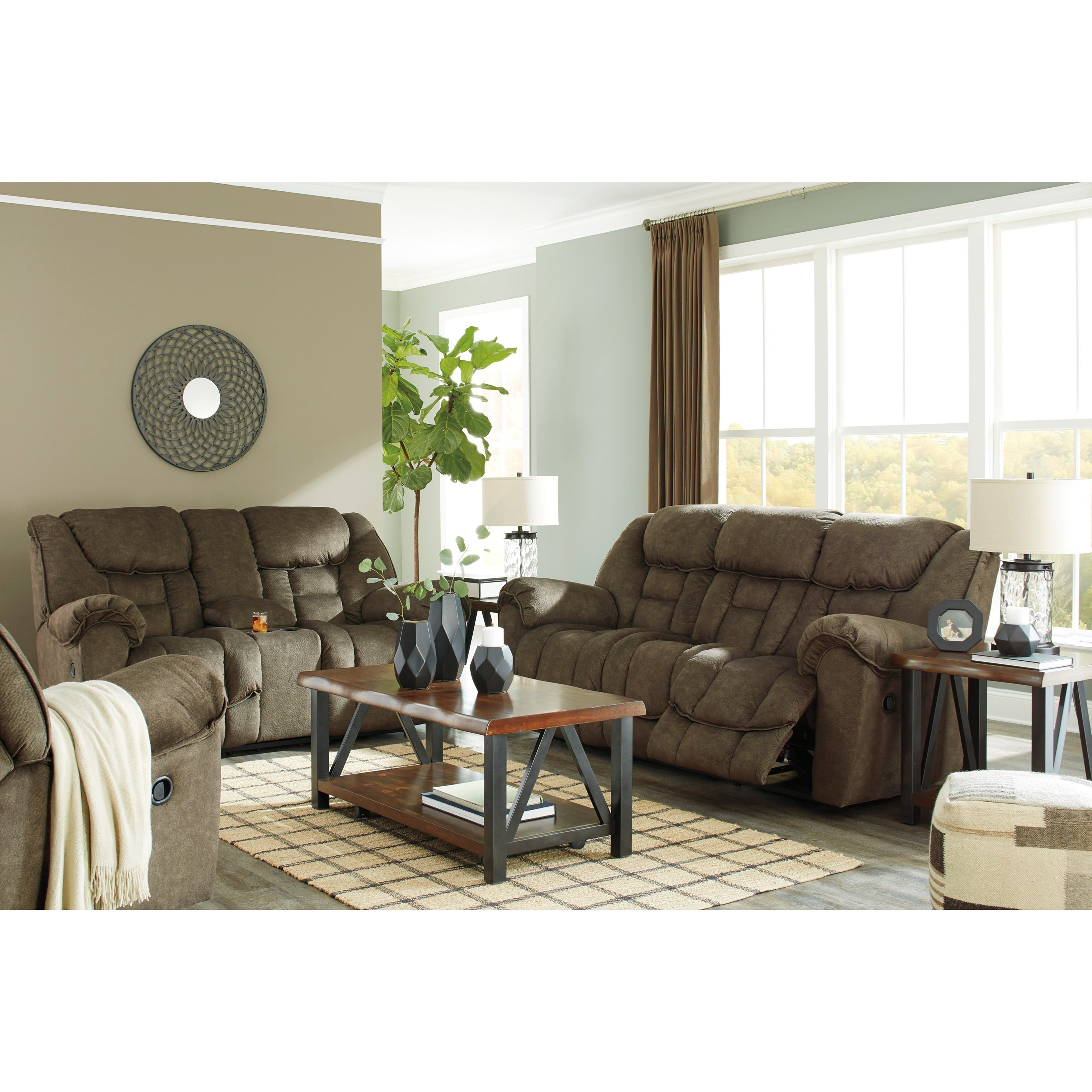 Signature Design By Ashley Capehorn Reclining Living Room Group