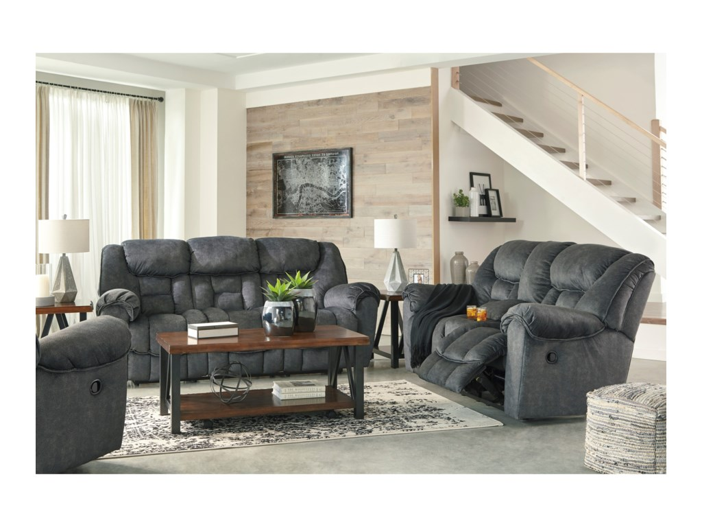 Signature Design by Ashley CapehornReclining Living Room Group