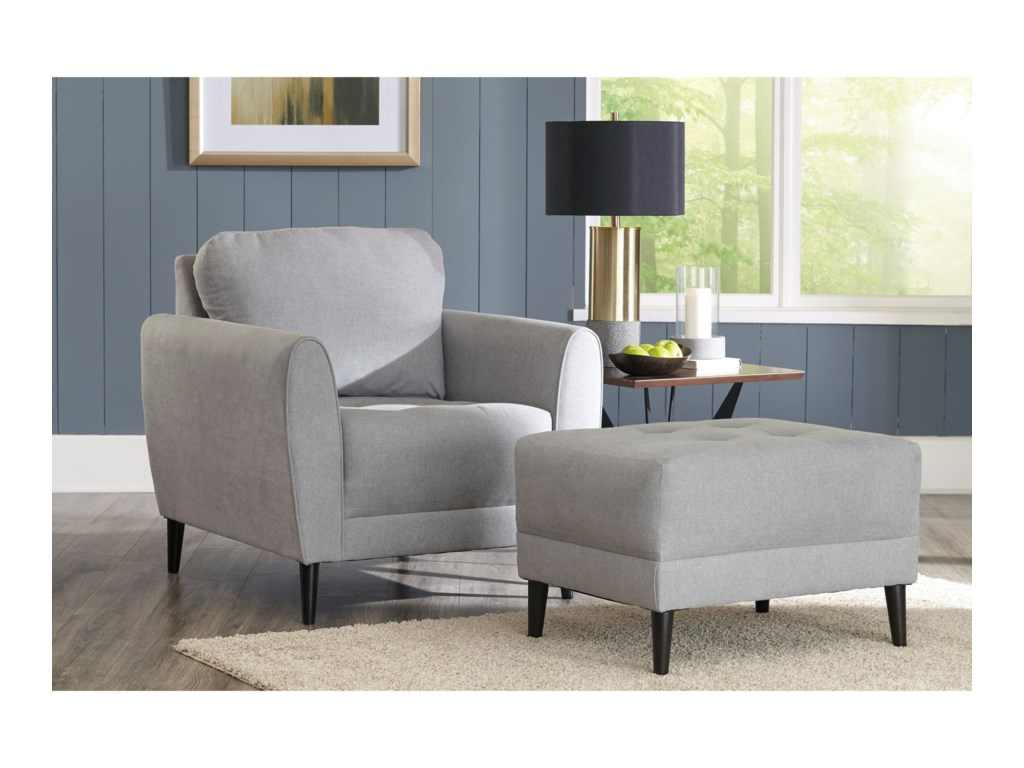 Signature CardelloChair and Ottoman