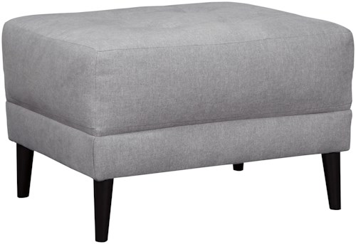Signature Design by Ashley Cardello Button Tufted Ottoman