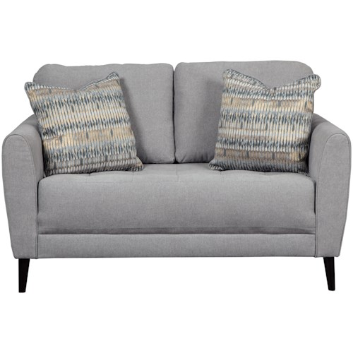 Signature Design by Ashley Cardello Contemporary Loveseat
