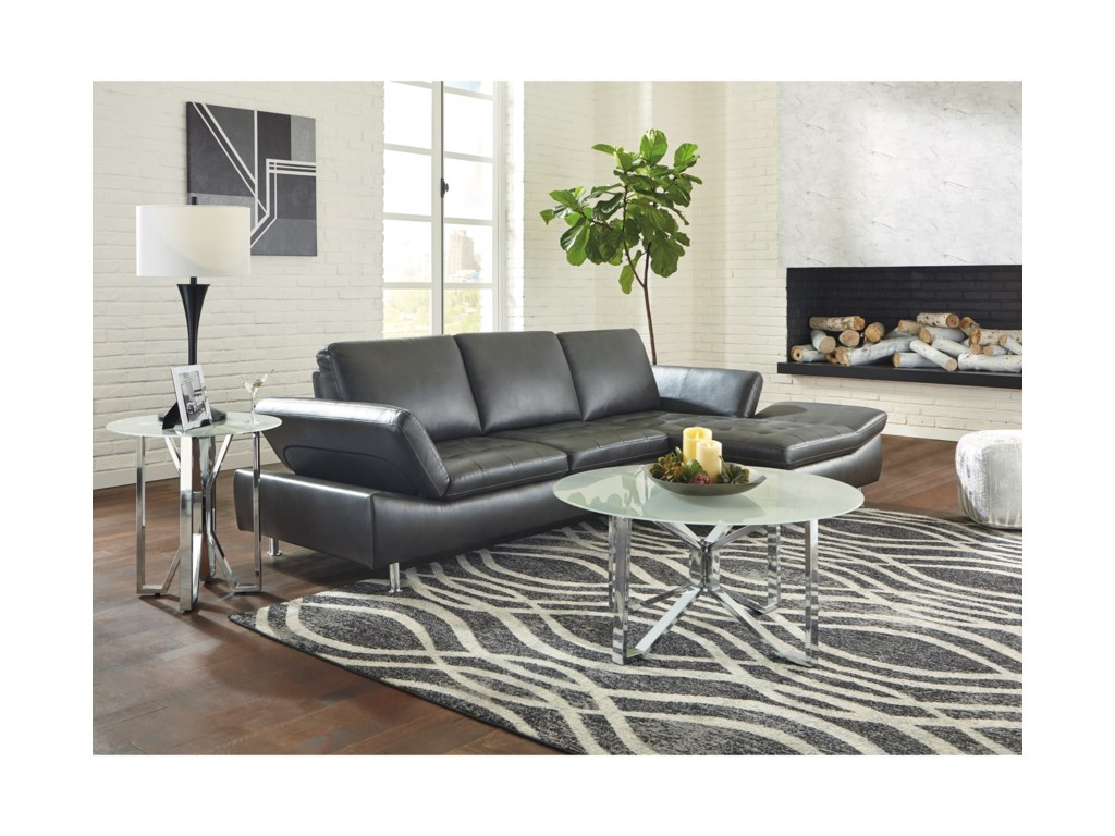 Signature Design by Ashley Carrnew2 Piece Sectional