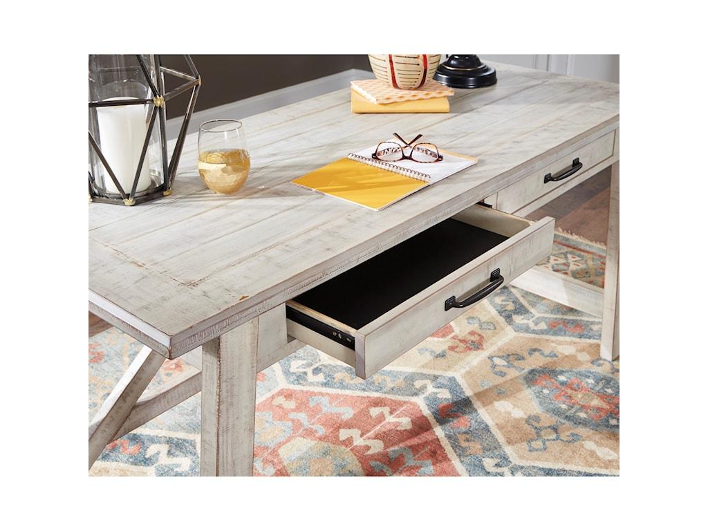 Signature Design by Ashley CarynhurstHome Office Large Leg Desk