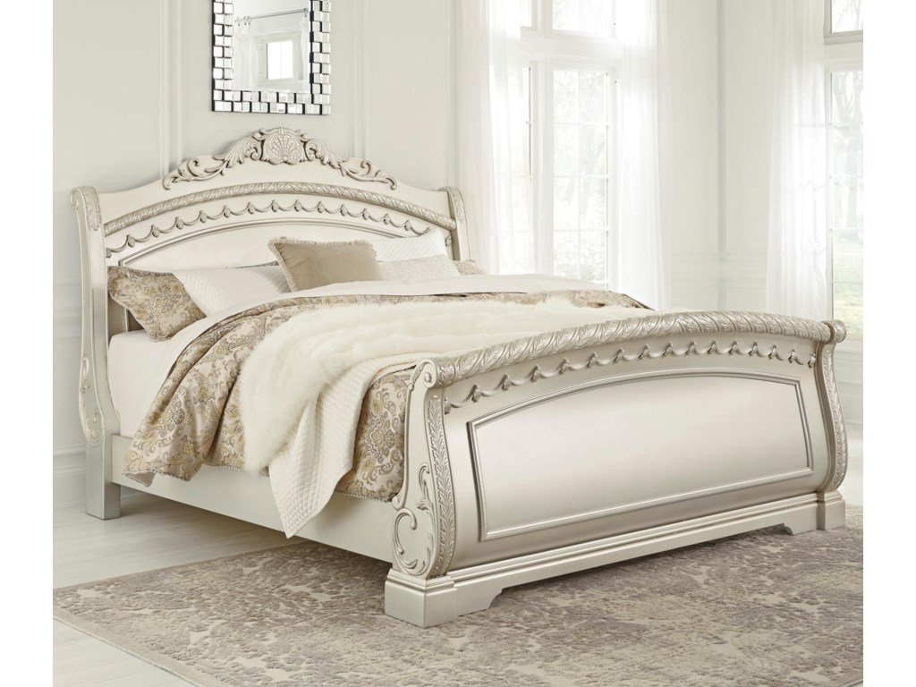 Signature Design by Ashley CassimoreKing Sleigh Bed