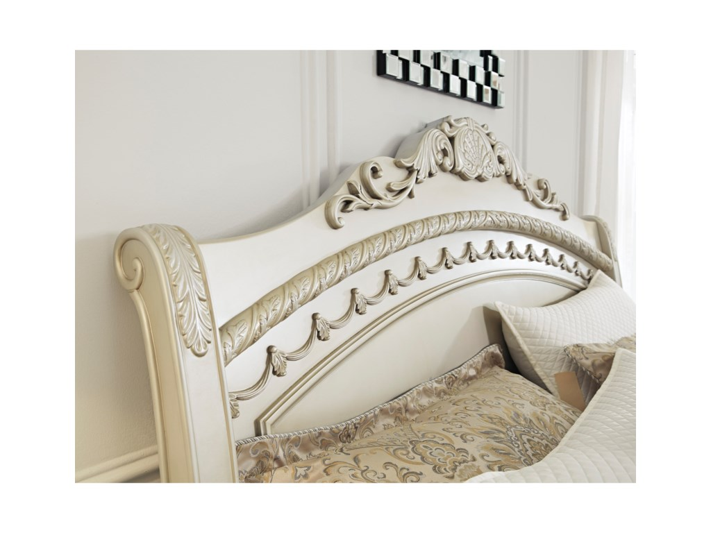 Signature Design by Ashley CassimoreQueen Sleigh Bed
