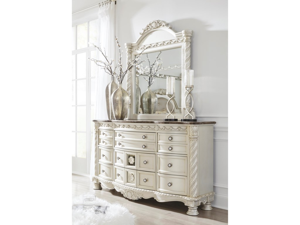 Signature Design by Ashley CassimoreDresser & Bedroom Mirror