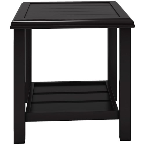 Signature Design by Ashley Castle Island Square End Table