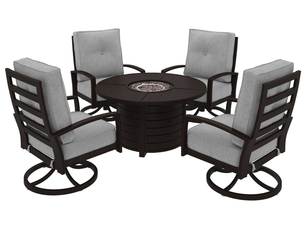 Signature Design by Ashley Castle IslandOutdoor Conversation Set
