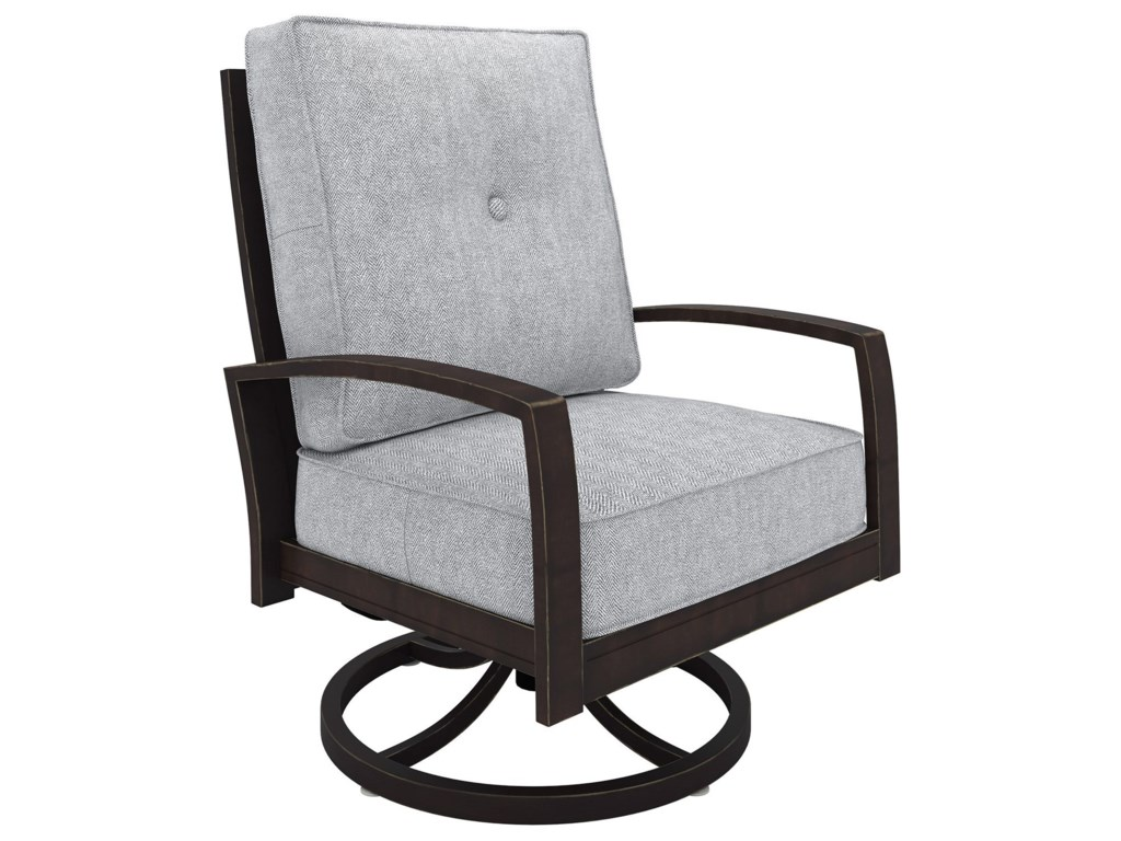 Signature Design by Ashley Castle IslandSwivel Lounge Chair