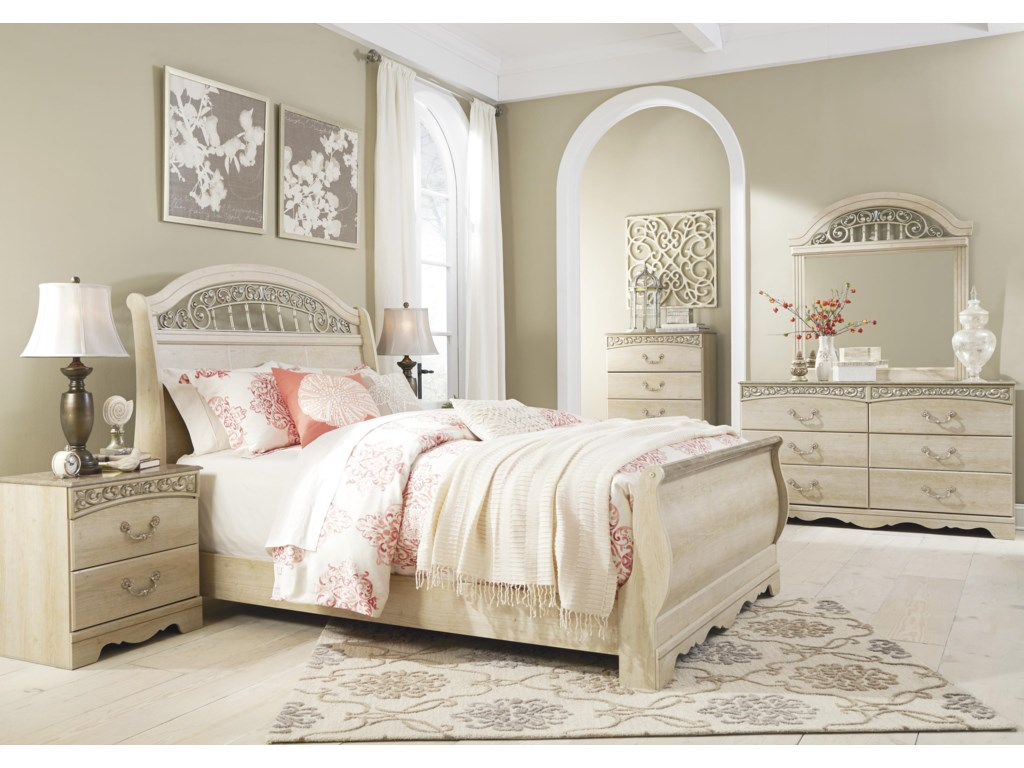 Ashley (Signature Design) CatalinaQueen Sleigh Bed