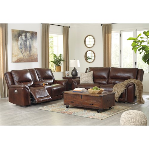 Signature Design by Ashley Catanzaro Reclining Living Room Group