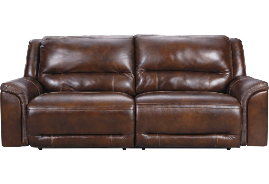 Catanzaro 2 Seat Power Reclining Sofa with USB Port and Adj Headrests by  Signature Design by Ashley at Standard Furniture