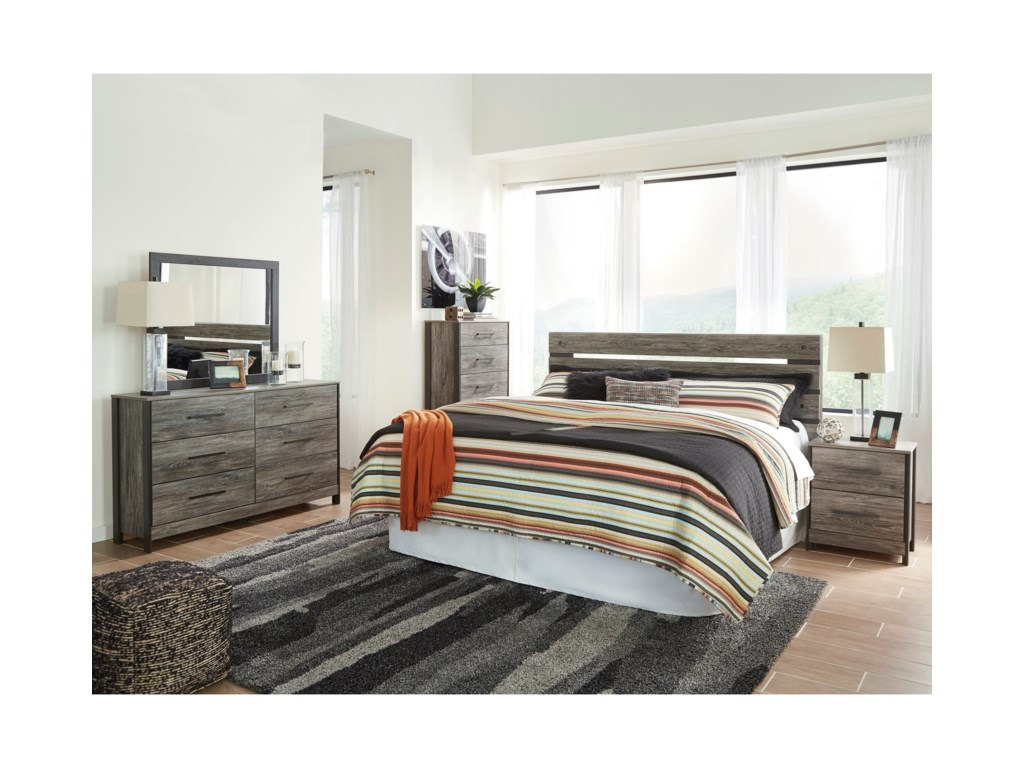 Signature Design by Ashley CazenfeldKing Bedroom Group