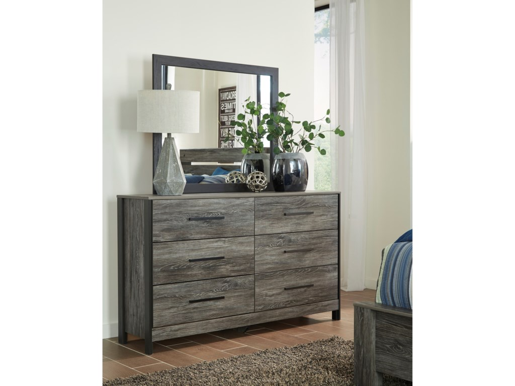 Ashley (Signature Design) CazenfeldDresser & Bedroom Mirror