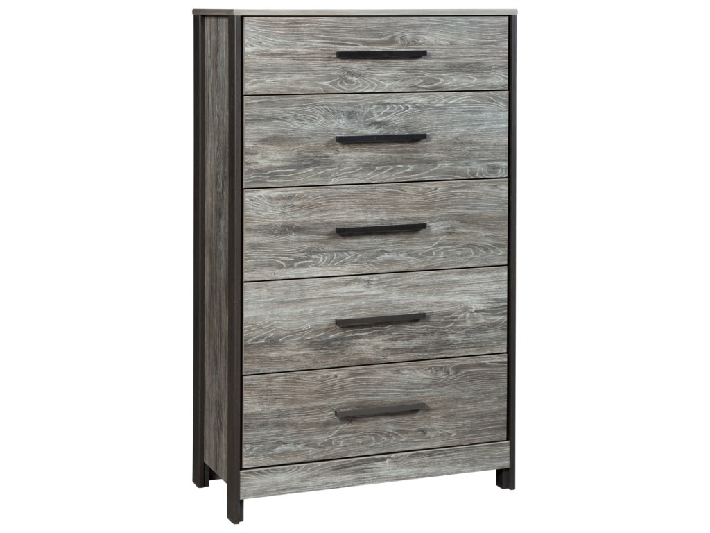 Signature Design by Ashley CazenfeldFive Drawer Chest