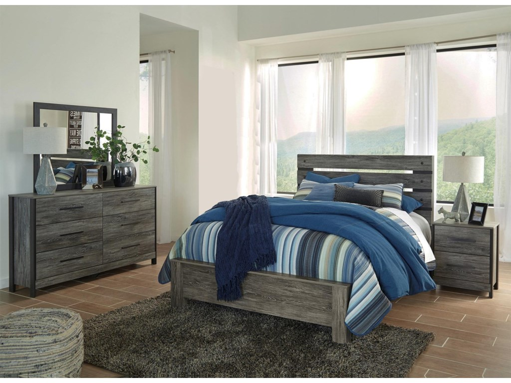 Signature Design by Ashley Cee Jay4-Piece Queen Bedroom Set