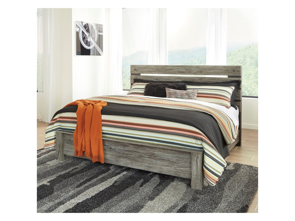 Signature Design by Ashley CazenfeldKing Panel Bed