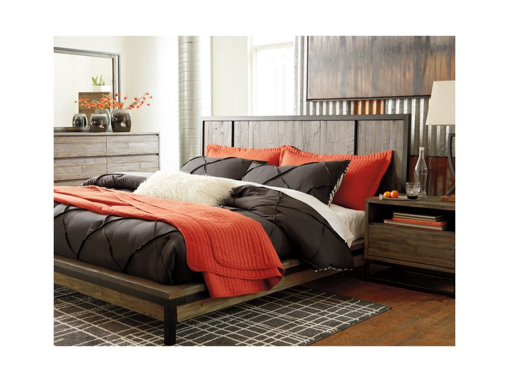 Signature Design by Ashley CazentineQueen Platform Bed