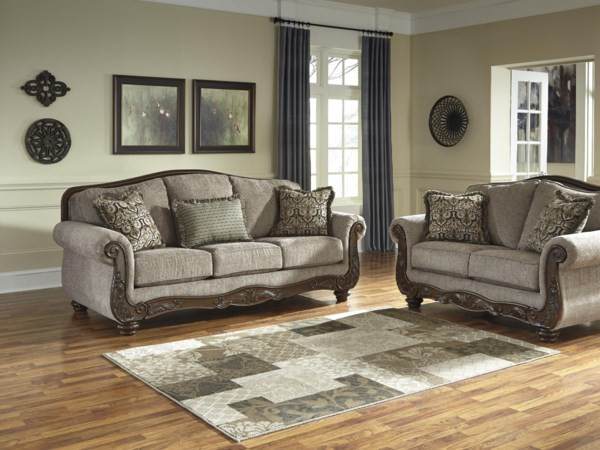 Signature Design By Ashley Cecilyn Stationary Living Room Group
