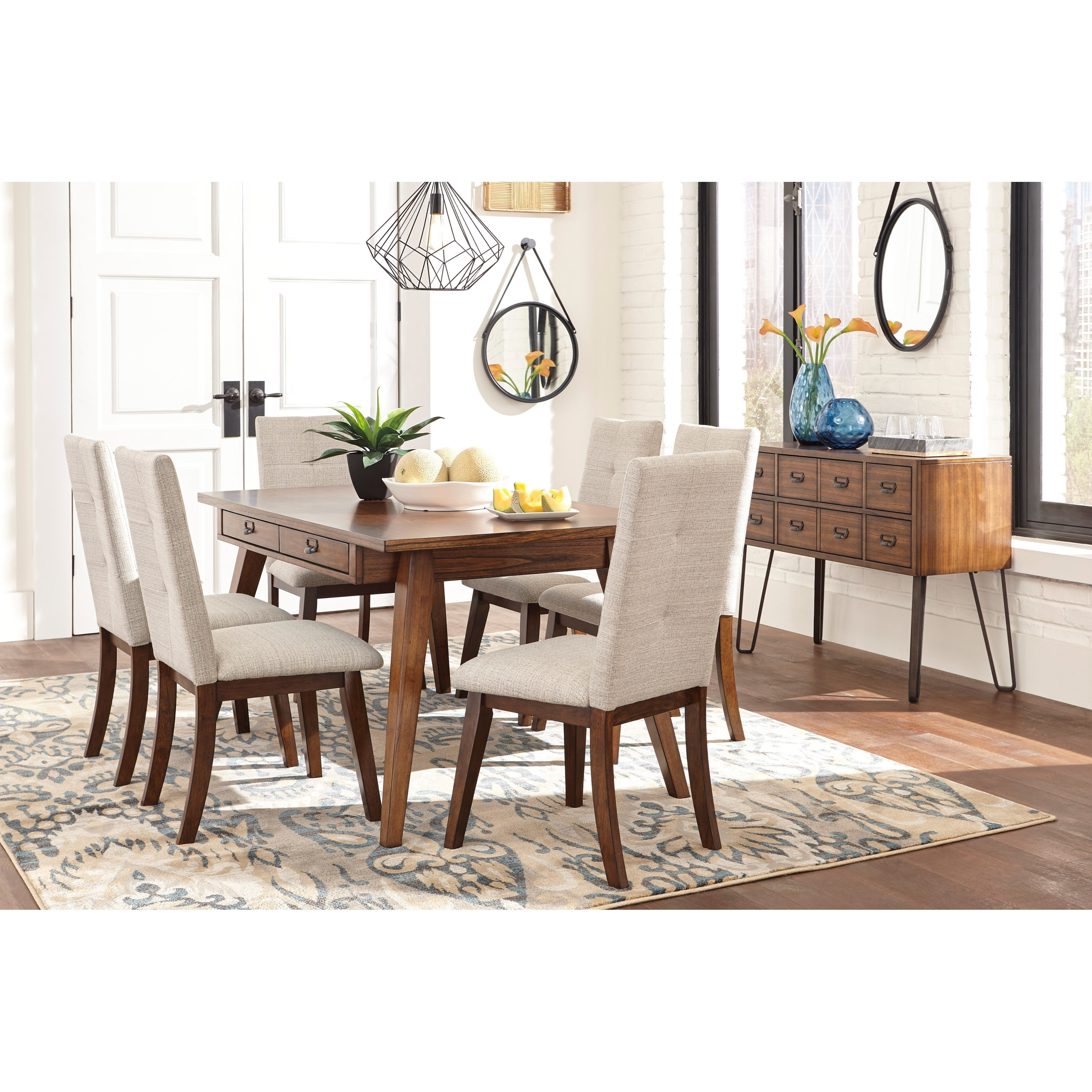 Signature Design By Ashley Centiar Casual Dining Room Group