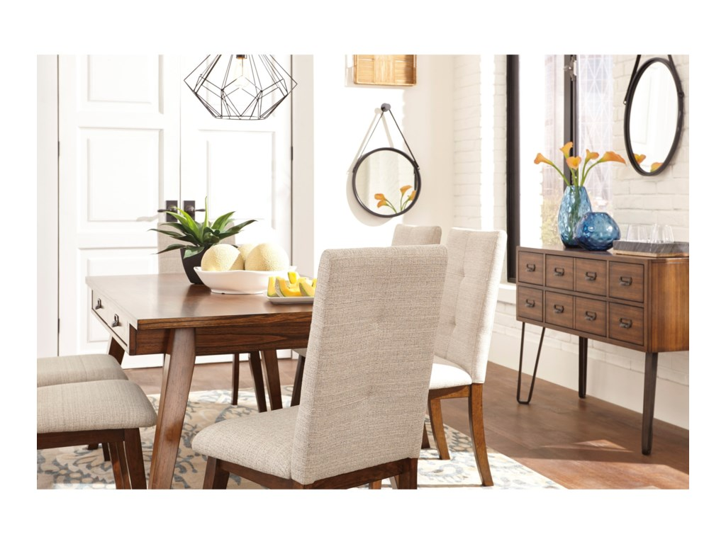 Signature Design by Ashley CentiarCasual Dining Room Group