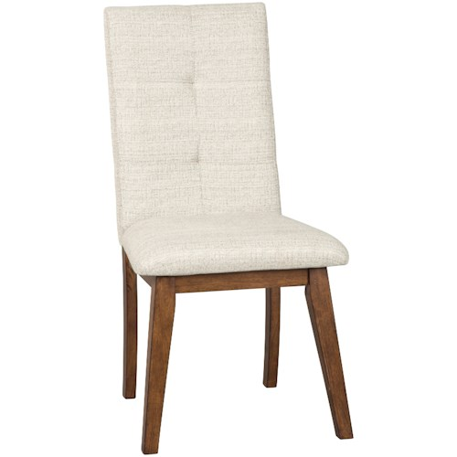 Signature Design by Ashley Centiar Dining Upholstered Side Chair with Stain Resistant Fabric
