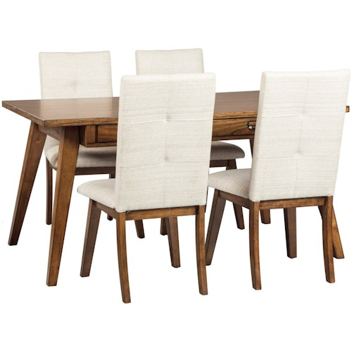 Signature Design by Ashley Centiar 5-Piece Rectangular Dining Room Set