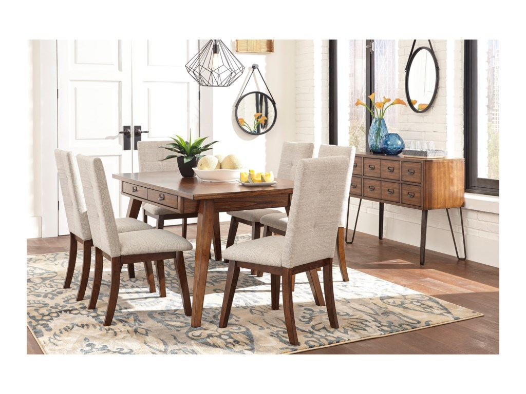 Signature Design by Ashley Centiar7-Piece Dining Room Set