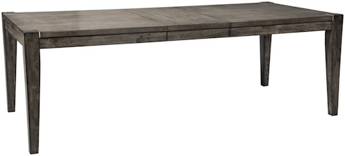 Signature Design by Ashley Chadoni Contemporary Rectangular Dining Table with Removable Leaf