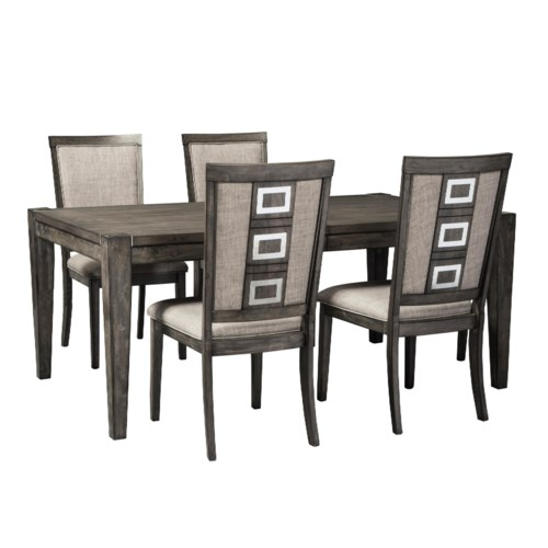 Signature Design by Ashley Chadoni 5 Piece Contemporary