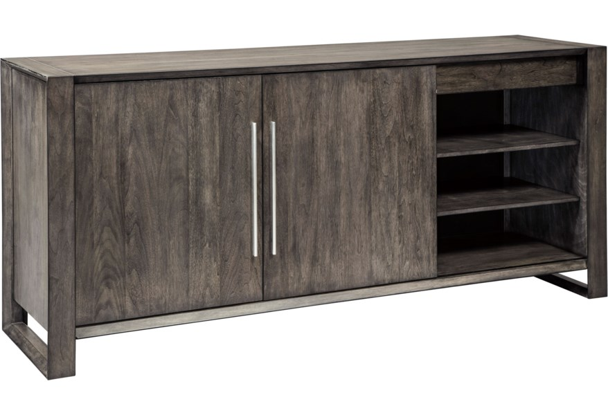 Signature Design By Ashley Chadoni D624 60 Contemporary Dining Room Server With Adjustable Shelves And Drawers Northeast Factory Direct Servers