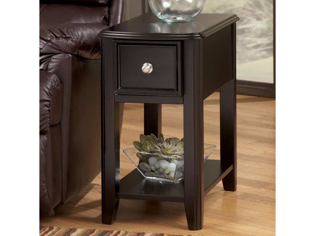 Trendz BreeginChairside End Table