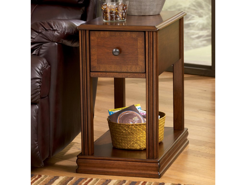 Signature BreeginChairside End Table