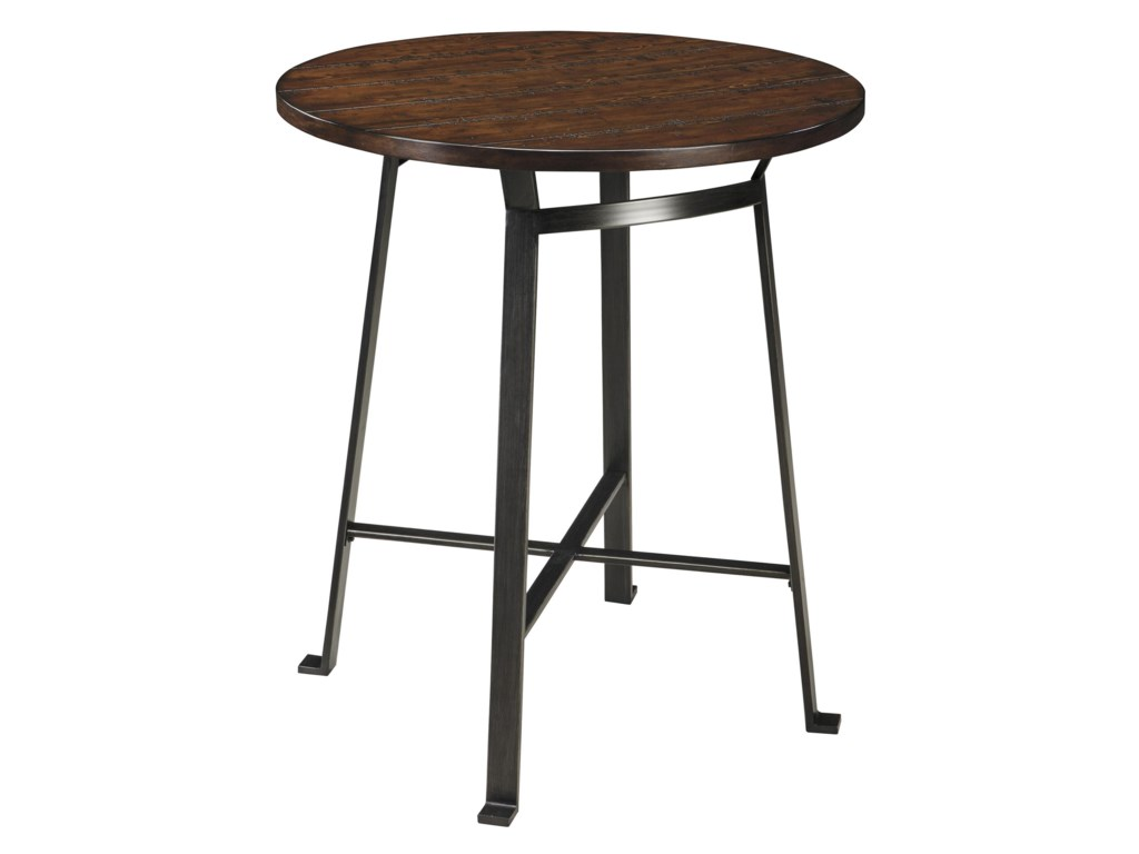 Signature Design by Ashley Challiman3-Piece Round Bar Table Set
