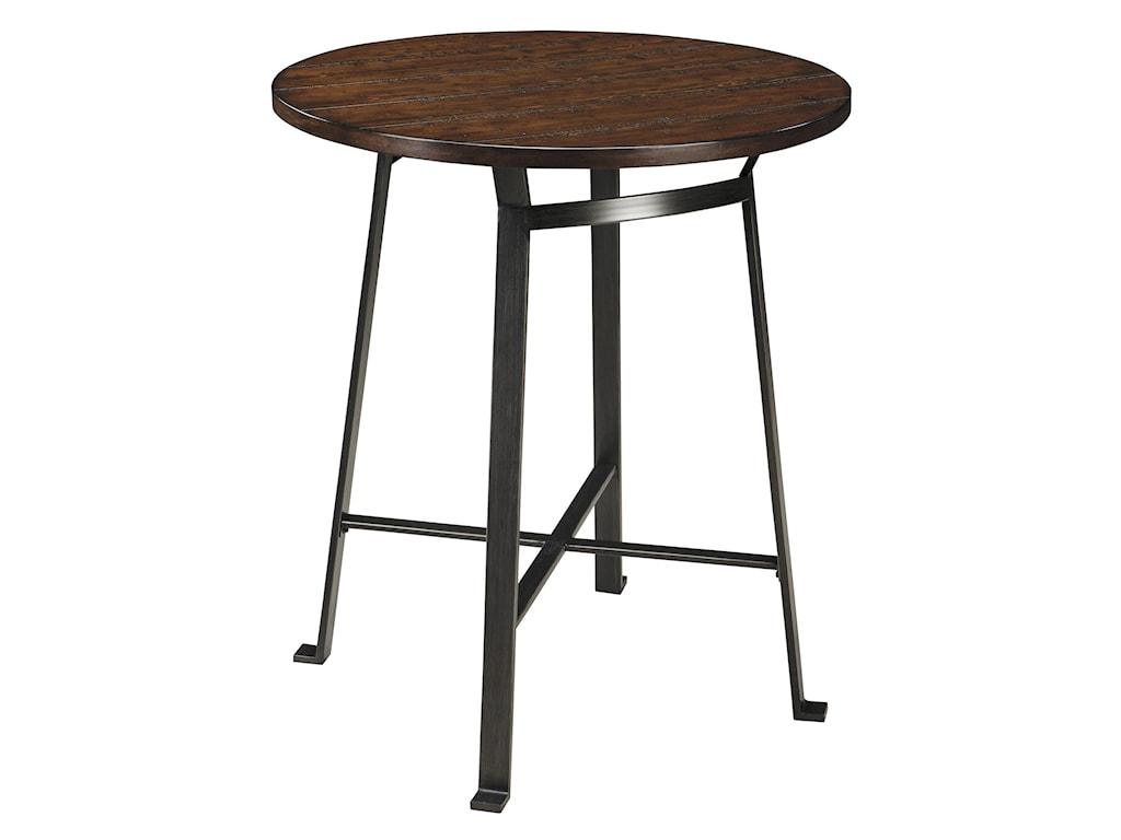 Ashley (Signature Design) Challiman3-Piece Round Bar Table Set