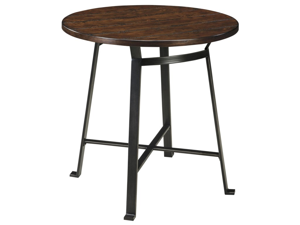 Signature Design by Ashley ChallimanRound Dining Room Counter Table