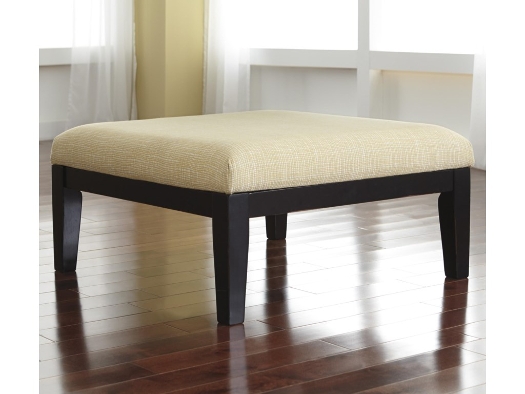 Signature Chamberly - AlloyOversized Accent Ottoman
