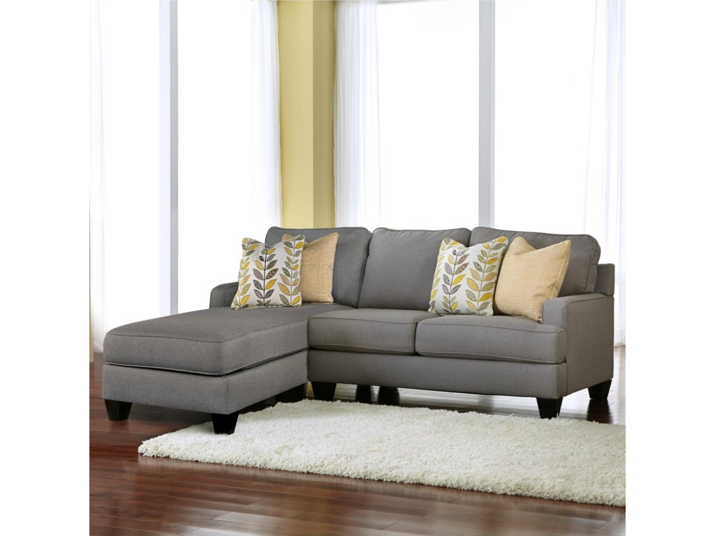 Signature Design by Ashley Chamberly - Alloy2-Piece Sectional with Chaise