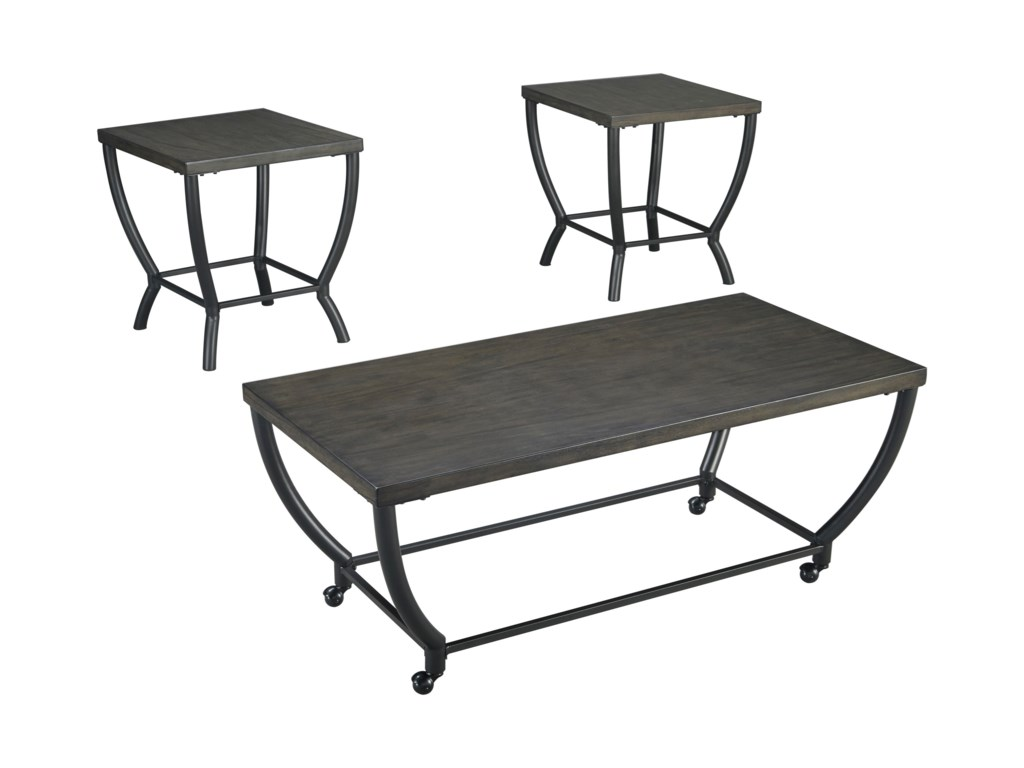 Ashley (Signature Design) ChamporiOccasional Table Set