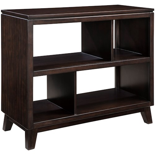 Signature Design by Ashley Chanceen Sofa Table with Open Shelves