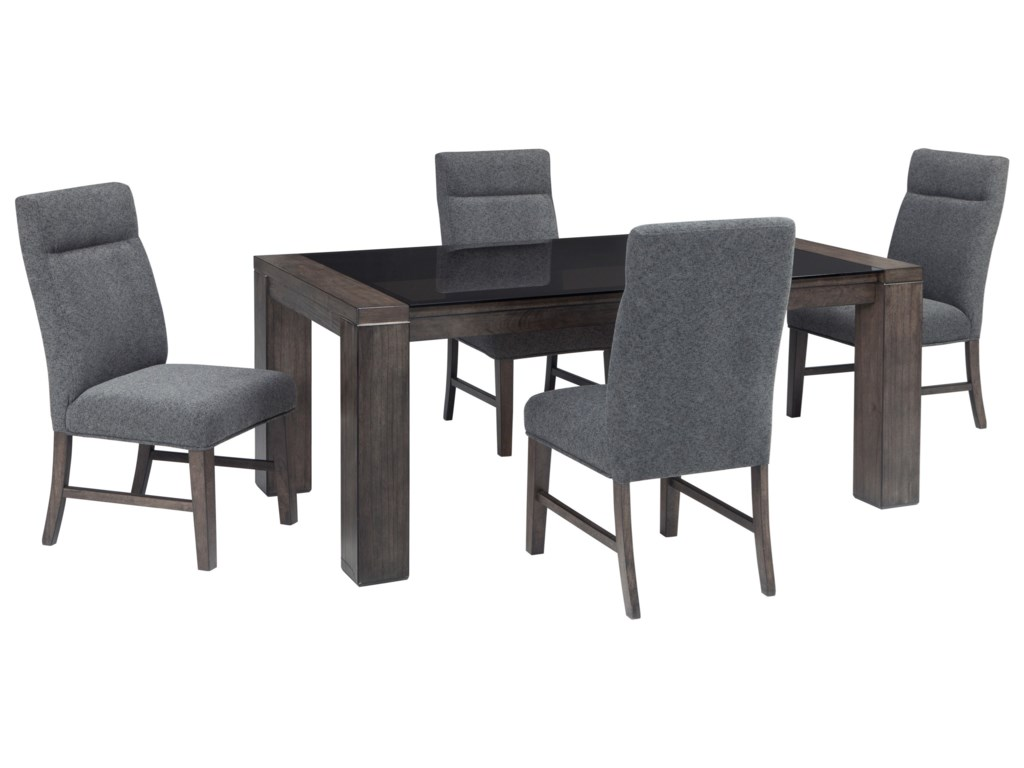 Signature Design By Ashley Chansey5 Piece Rectangular Dining Table Set