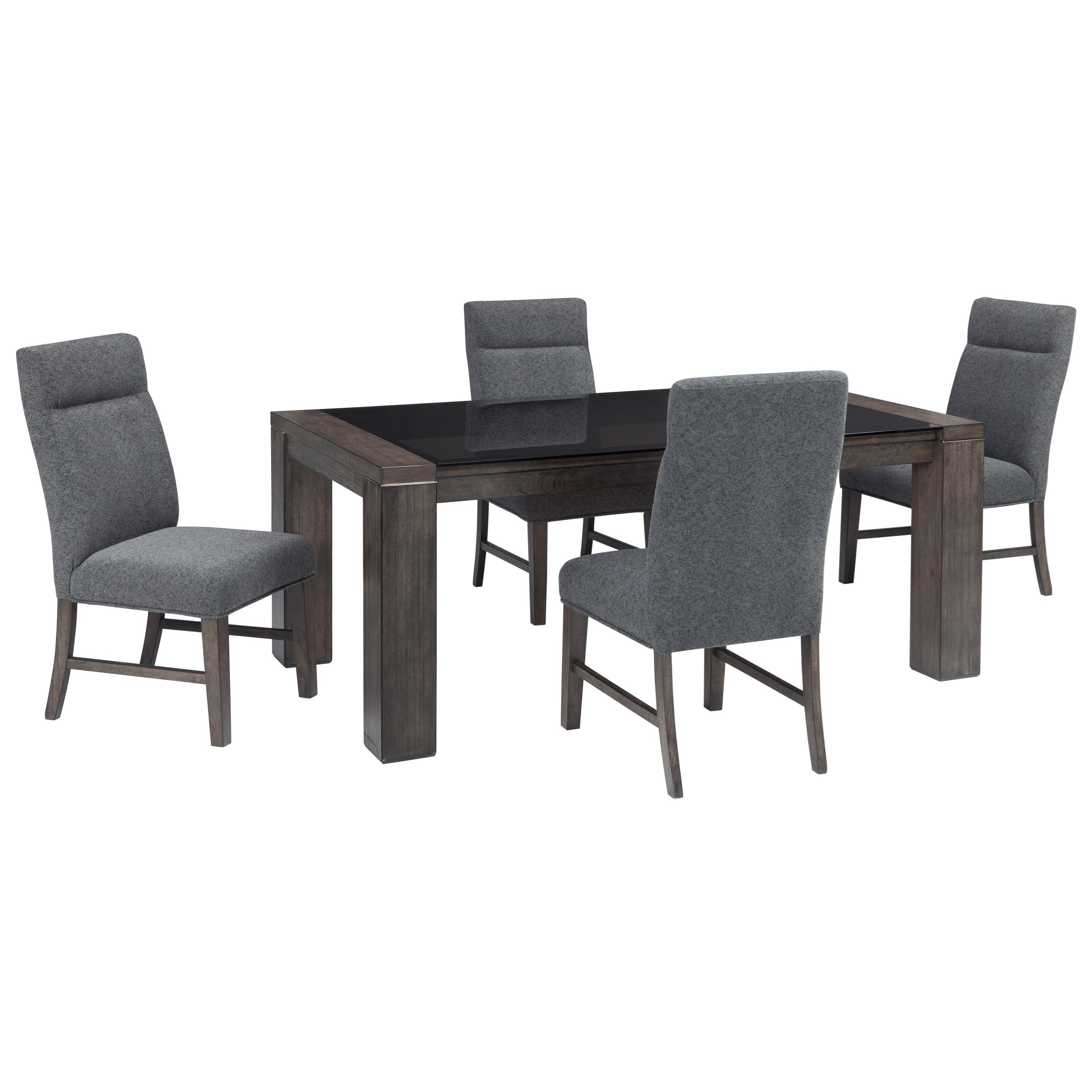 Signature Design By Ashley Chansey5 Piece Rectangular Dining Table Set ...