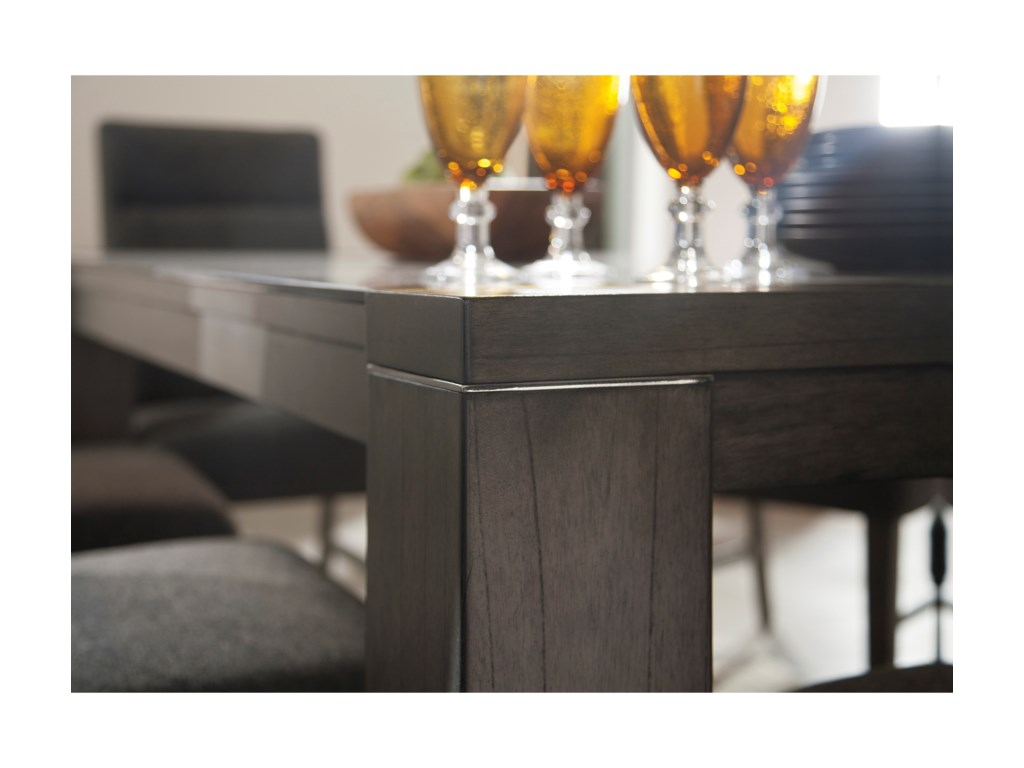 Signature Design by Ashley ChanseyRectangular Dining Room Table with Glass Top