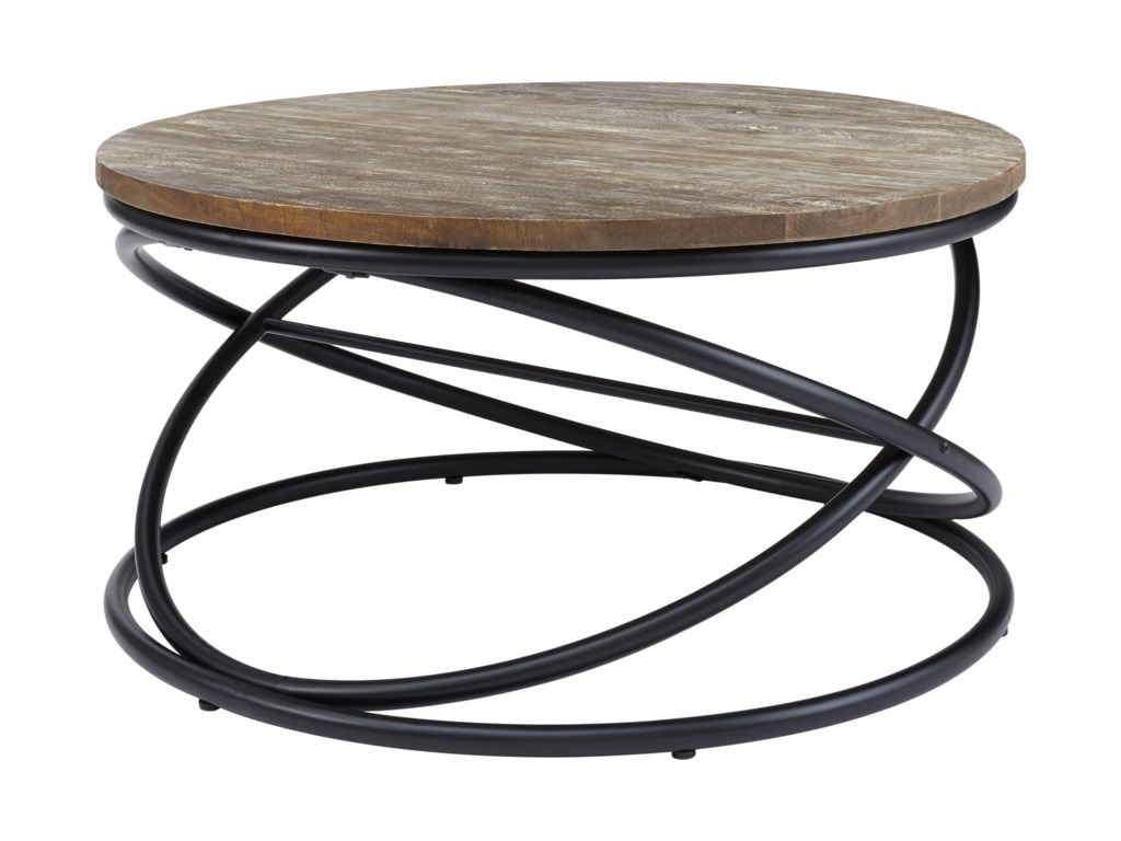 Signature Design by Ashley CharliburiRound Cocktail Table